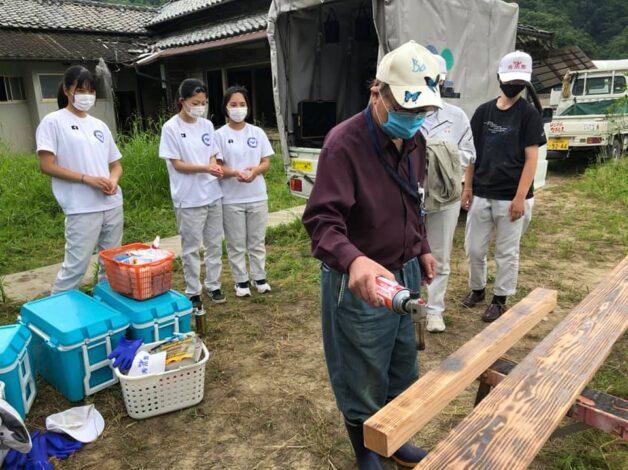 熊本県南部豪雨災害天ボランティア活動97日目