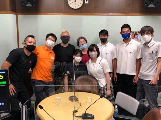 FM八代「僕らの放送大・集・合」に出演し、坂本町でのボランティア活動について話をさせていただきました
